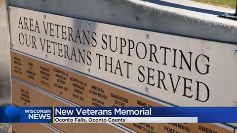 """Never forget why we're here:"" New veterans monument unveiled..."