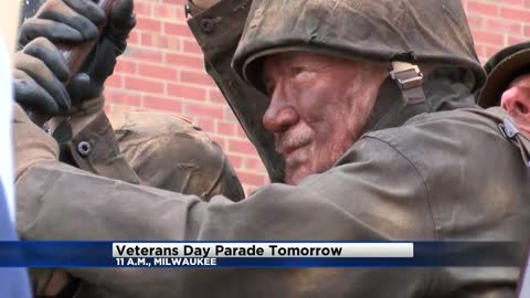 54th Annual Veterans Day Parade in Milwaukee Saturday, November 4th