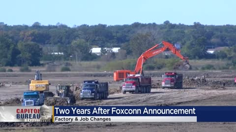 Supporters, skeptics at odds two years after Foxconn announcement