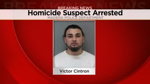 Homicide suspect Victor Cintron taken into custody in California
