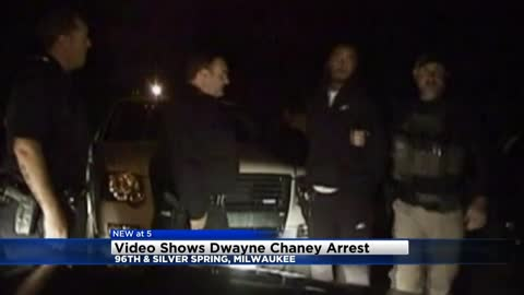 Dash cam video captures arrest of Dwayne Chaney, convicted killer caught after being on the run
