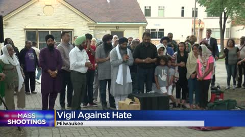 Local vigil held to honor victims of mass shootings