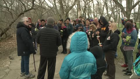 Vigil held for high school student found dead in Sheridan Park