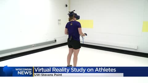 UW-Stevens Point studying how virtual reality may be able to help injured athletes