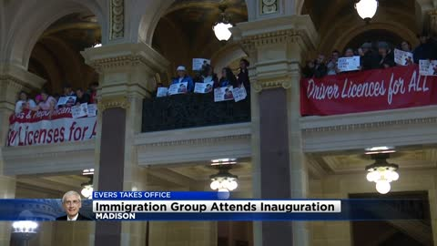 """I'm very hopeful:"" Pro-immigration group Voces de la Frontera attends inauguration ceremony"