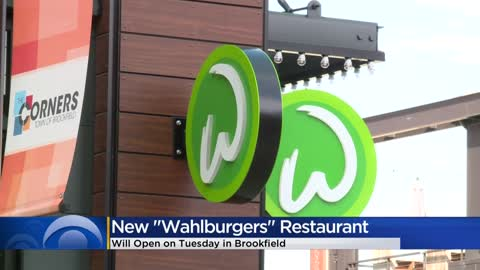 Wahlburgers restaurant opens Tuesday at The Corners of Brookfield