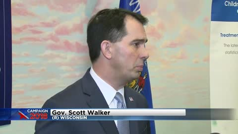 "Gov. Walker warns of ""Blue Wave"" coming to Wisconsin"
