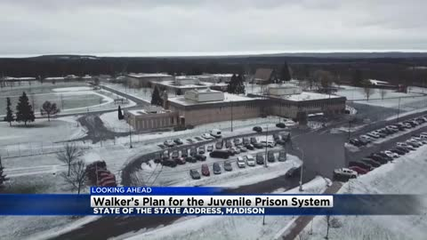 Walker to discuss juvenile prisons, health care proposals in state of the state speech