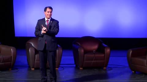 Gov. Walker speaks at Milwaukee 7 Economic Forum