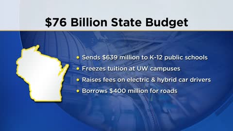 Governor Walker issues 99 partial vetoes to state budget
