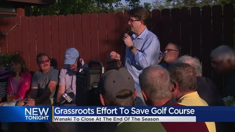 Golfers search for solutions to save Wanaki Golf Course