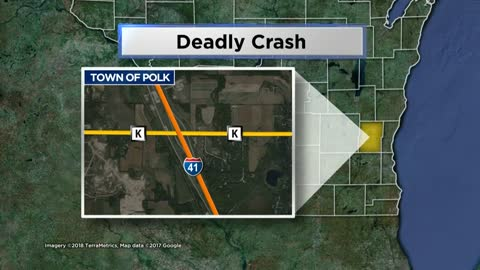 1 dead, 7 hurt in Washington County crash
