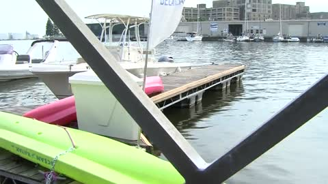 Water is clean for first Milwaukee River open swim