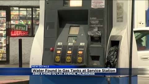 Gas station near 23rd and Fond du Lac shut down for allegedly selling gas mixed with water