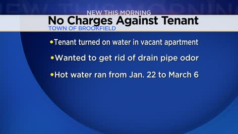 Town of Brookfield man runs water at apartment for a month to get rid of bad smell