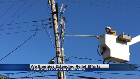 We Energies workers from Wisconsin extending relief efforts in Puerto Rico