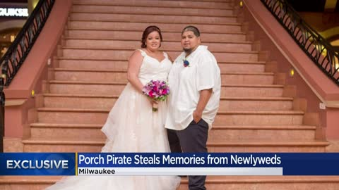 Update: Wedding photos returned after being stolen by porch pirate