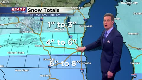 Winter Storm Watch Issued...Updated Snow Totals