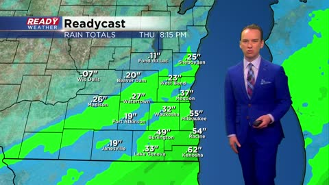 Wet week continues with more rain Thursday