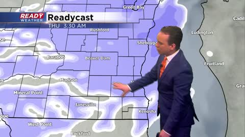 60 hour light snow event starts Wednesday evening