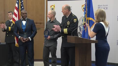 West Allis Police officers recognized at annual ceremony