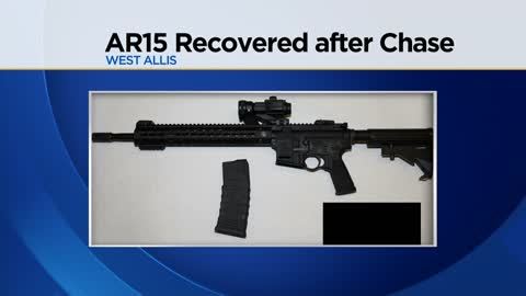 West Allis Police: Suspect arrested after loaded AR-15, drugs found in car involved in chase