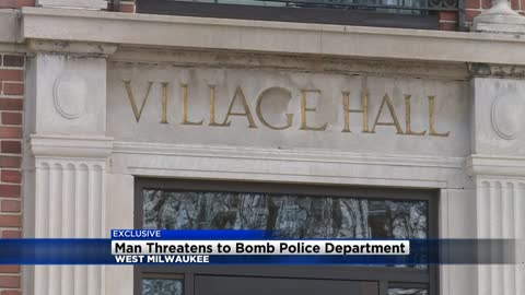 911 calls released after man calls in bomb threat to West Milwaukee Police Department