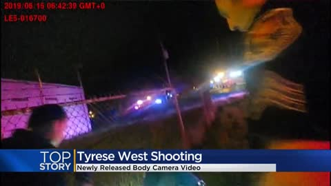 Newly released body camera video shows moment after Tyrese West...