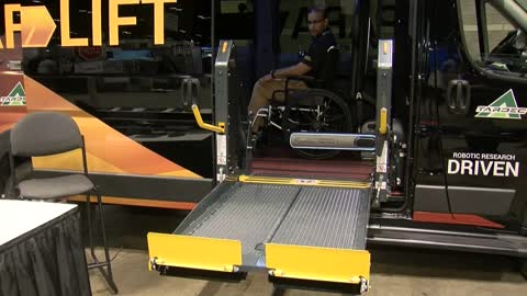 Company creates wheelchair lift to give passengers more independence