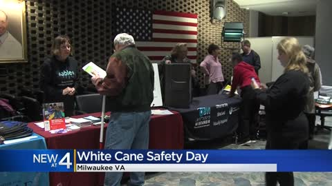 Milwaukee VA celebrates White Cane Safety Day with services for...