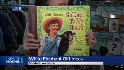 Goodwill shares affordable white elephant gift ideas