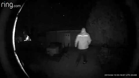 Police: Man caught on camera sneaking through yards in Whitefish Bay