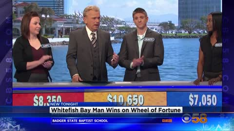Whitefish Bay man wins big on Wheel of Fortune