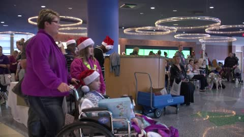 Children's Hospital's Winter Carnival brings holiday cheer to kids, families staying at the hospital