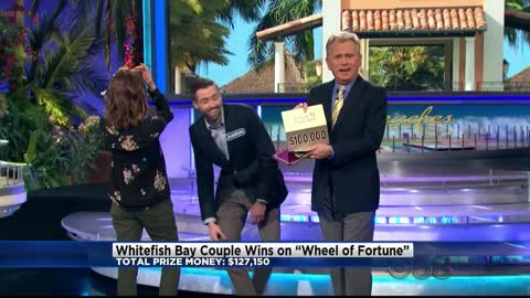 Whitefish Bay couple wins $127,150 on Wheel of Fortune