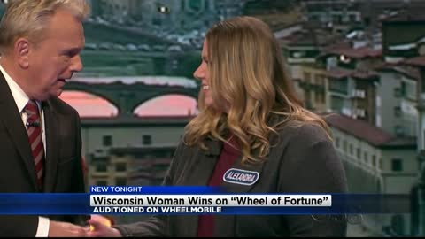 Wisconsin woman wins big on Wheel of Fortune
