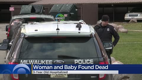 Adult, baby found deceased near Teutonia and Custer, 3-year-old...