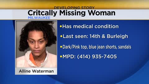 Critically missing woman found