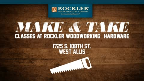 Relive your high school shop class at Rockler