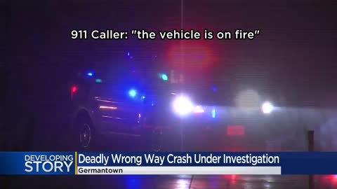 1 dead, 4 seriously injured after wrong-way driver causes three-vehicle...