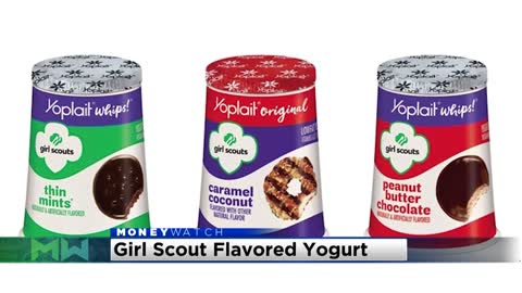 Yoplait launching three new Girl Scout Cookie-inspired flavors