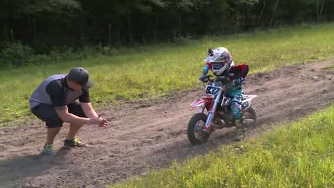 6-year-old Wisconsin boy is winning big in Motorcross competitions