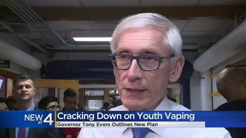 Gov. Evers calls for legislative action to curb youth vaping