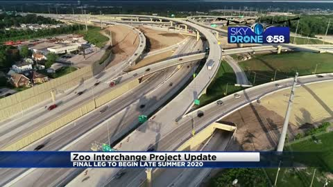 Final leg of Zoo Interchange Project will begin end of summer of 2020