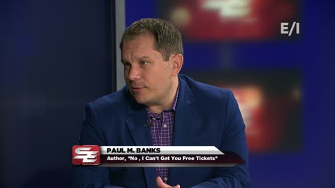 "Sports writer Paul Banks shares some of his most memorable moments as a beat reporter covering professional sports in his new book ""No, I Can't Get You Free Tickets""."