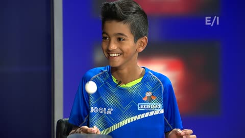 This week we meet Nandan Naresh - the under 14 Table Tennis World Champion