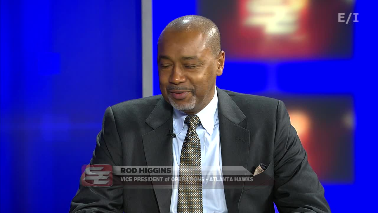 Atlanta Hawks VP of Basketball Operations Rod Higgins stops by to share memories of his days as a Chicago Bull and the keys to building a successful career after basketball.