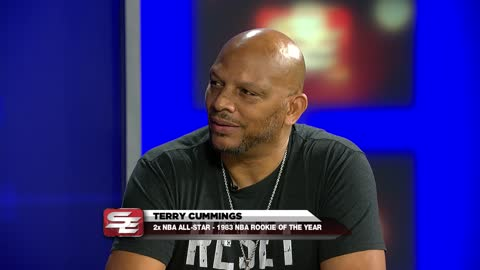 2-time NBA All-Star Terry Cummings