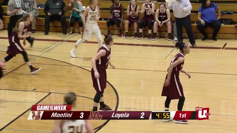 Game of the Week: Montini vs. Loyola 1/11/18