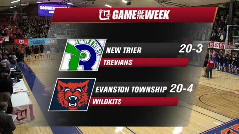 Game of the Week: Evanston vs. New Trier 2/16/2018